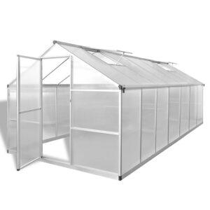 Estufa reforçada com alumínio 10,53 m² - PORTES GRÁTIS