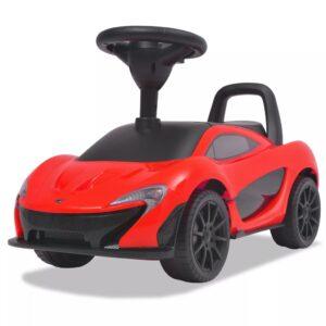 Carro de passeio McLaren P1 vermelho - PORTES GRÁTIS