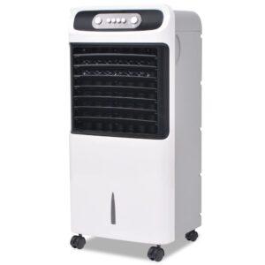 Climatizador de ar Portátil 80W 12L 496 m³/h - PORTES GRÁTIS