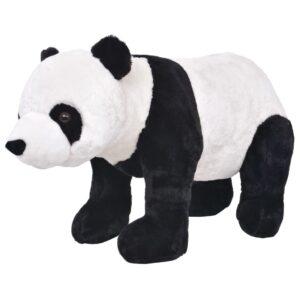 Brinquedo de montar panda peluche preto e branco XXL - PORTES GRÁTIS