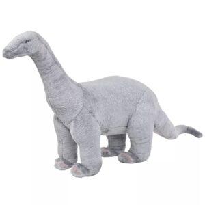 Brinquedo de montar dinossauro braquiossauro peluche cinza XXL - PORTES GRÁTIS