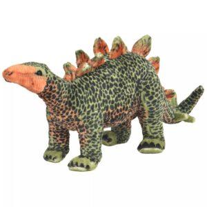 Brinquedo de montar estegossauro peluche verde e laranja XXL - PORTES GRÁTIS