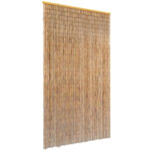 Cortina de porta anti-insetos em bambu 100x200 cm - PORTES GRÁTIS