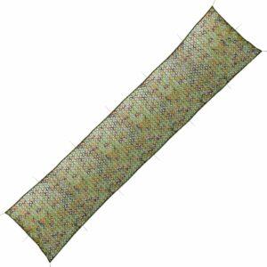Rede de camuflagem com saco de armazenamento 1,5 m x 10 m - PORTES GRÁTIS