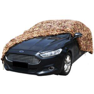 Rede de camuflagem com saco de armazenamento 3 m x 4 m - PORTES GRÁTIS