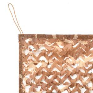 Rede de camuflagem com saco de armazenamento 4 m x 4 m - PORTES GRÁTIS