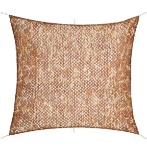 Rede de camuflagem com saco de armazenamento 3 m x 3 m - PORTES GRÁTIS