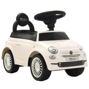 Carro de passeio Fiat 500 branco  - PORTES GRÁTIS