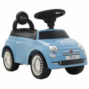 Carro de passeio Fiat 500 azul  - PORTES GRÁTIS