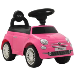 Carro de passeio Fiat 500 rosa  - PORTES GRÁTIS