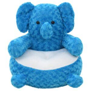Elefante de peluche azul - PORTES GRÁTIS