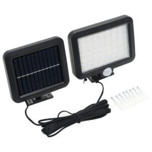 Candeeiro solar com sensor de movimento luz LED branca - PORTES GRÁTIS