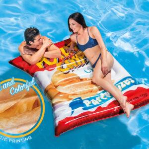 Intex Bóia de piscina Potato Chips 178x140 cm 58776EU - PORTES GRÁTIS