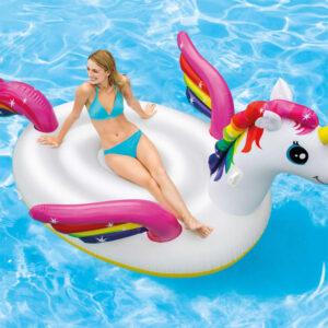 Intex Bóia de piscina Mega Unicorn Island 57281EU - PORTES GRÁTIS