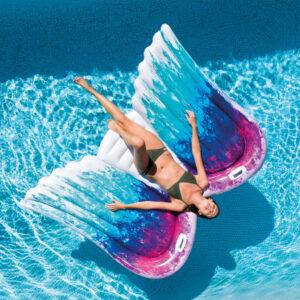 Intex Bóia de piscina Angel Wings Mat 58786EU - PORTES GRÁTIS