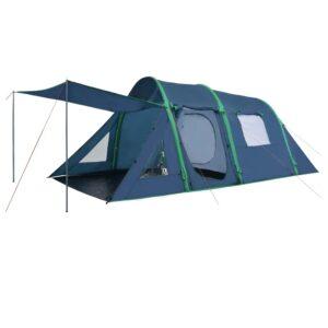 Tenda de campismo com vigas insufláveis 500x220x180 cm verde - PORTES GRÁTIS