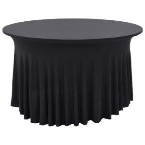 Capa extensível para mesa c/ camilha 2 pcs 120x74 cm antracite - PORTES GRÁTIS