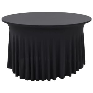 Capa extensível para mesa c/ camilha 2 pcs 180x74 cm antracite - PORTES GRÁTIS