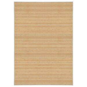Tapete de bambu 160x230 cm natural - PORTES GRÁTIS