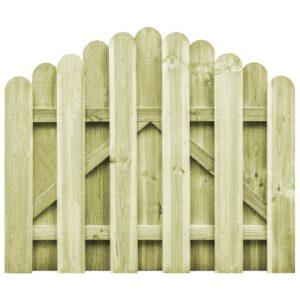 Portão de jardim em pinho impregnado FSC 100x75 cm  - PORTES GRÁTIS