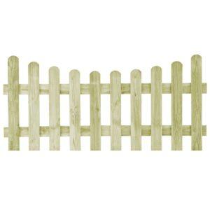 Portão de jardim pinho impregnado FSC 170x80 cm  - PORTES GRÁTIS