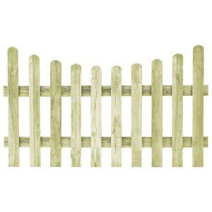 Portão de jardim pinho impregnado FSC 170x100 cm  - PORTES GRÁTIS