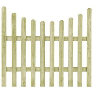 Portão de jardim pinho impregnado FSC 170x150 cm  - PORTES GRÁTIS