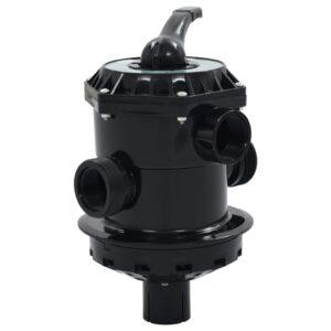 Válvula multiportas para filtro de areia ABS 38 mm 6-vias  - PORTES GRÁTIS