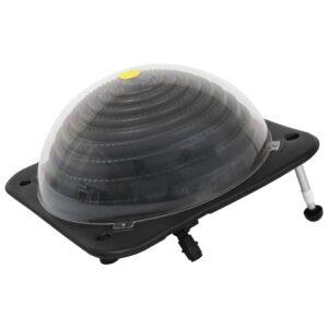 Aquecedor de piscina solar 75x75x36 cm alumínio PEAD - PORTES GRÁTIS