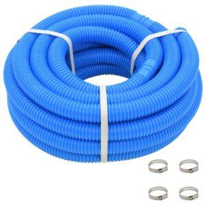 Mangueira de piscina com braçadeiras azul 38 mm 12 m - PORTES GRÁTIS