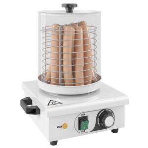 Aquecedor de cachorros-quentes aço inoxidável 450 W - PORTES GRÁTIS
