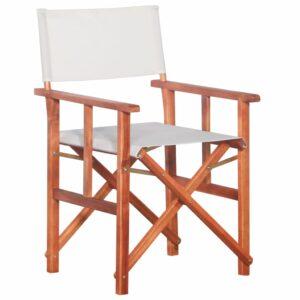 Cadeira de realizador em madeira de acácia maciça - PORTES GRÁTIS