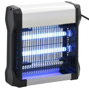 Eletrocutor de insetos preto alumínio ABS 12 W - PORTES GRÁTIS