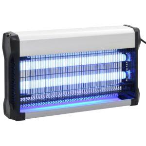 Eletrocutor de insetos alumínio ABS 30 W preto - PORTES GRÁTIS