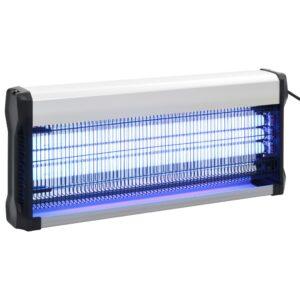 Eletrocutor de insetos alumínio ABS 60 W preto - PORTES GRÁTIS