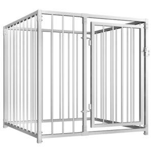 Canil de exterior 100x100 cm - PORTES GRÁTIS