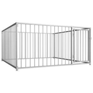Canil de exterior 200x200x100 cm - PORTES GRÁTIS