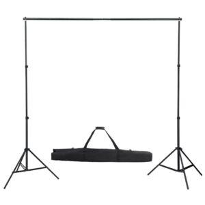Sistema de suporte, de fundo 300 cm - PORTES GRÁTIS