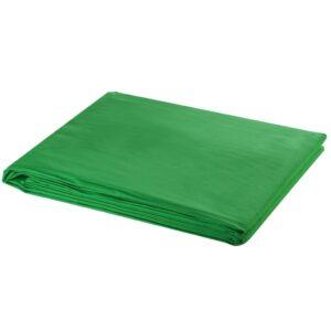 Fundo fotográfico em algodão verde 500x300 cm chroma key - PORTES GRÁTIS