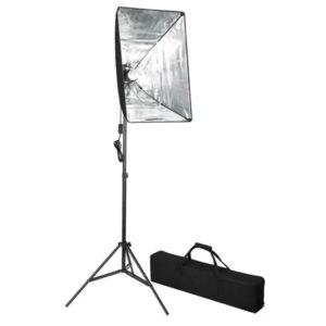 Iluminação profissional para estúdio 60 x 40 cm - PORTES GRÁTIS