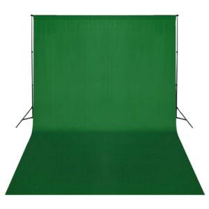 Sistema porta-fundos 500 x 300 cm verde - PORTES GRÁTIS