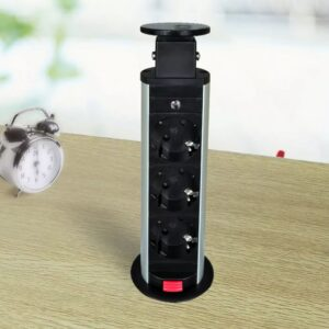 Torre tomada elétrica de embutir/retrátil para mesa  - PORTES GRÁTIS