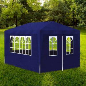 Tenda para festas 3x4 m azul - PORTES GRÁTIS