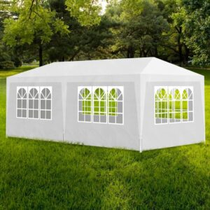 Tenda para festas 3x6 m branco - PORTES GRÁTIS