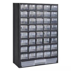 Armário plástico gavetas caixa de ferramentas - PORTES GRÁTIS