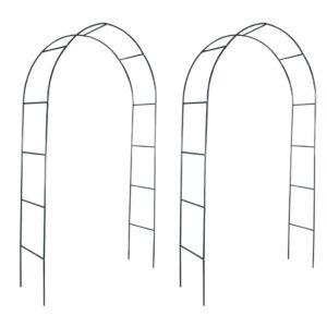 Arco de Jardim 2 Peças para Trepadeiras - PORTES GRÁTIS