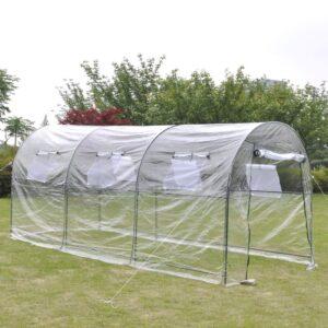 Estufa de jardim grande e portátil  - PORTES GRÁTIS