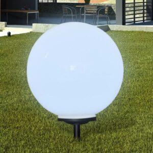 Bolas solares com pico-de-chão / 1 peça, 50 cm - PORTES GRÁTIS