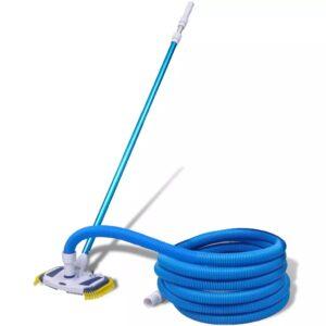 Ferramenta limpeza piscina aspirador com cabo telescópico e mangueira - PORTES GRÁTIS