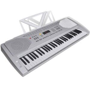 Piano Teclado Eléctrico 61 Teclas com Tripé - PORTES GRÁTIS